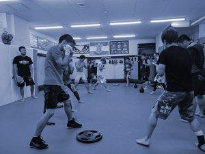 総合格闘技道場CAVE練習