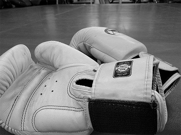 ボクシング練習