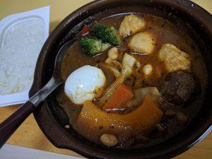 減量中にこのスープカレー食べたら、やばいくらいうまかった。